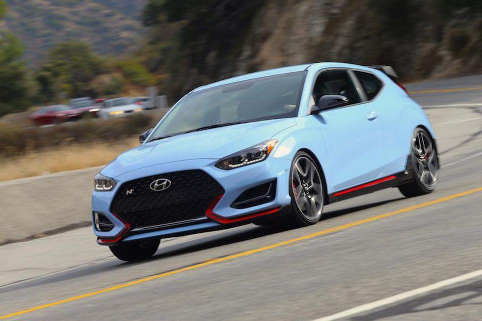 Vying For The Title Of 'Hottest Hatch': Meet The Hyundai Veloster N