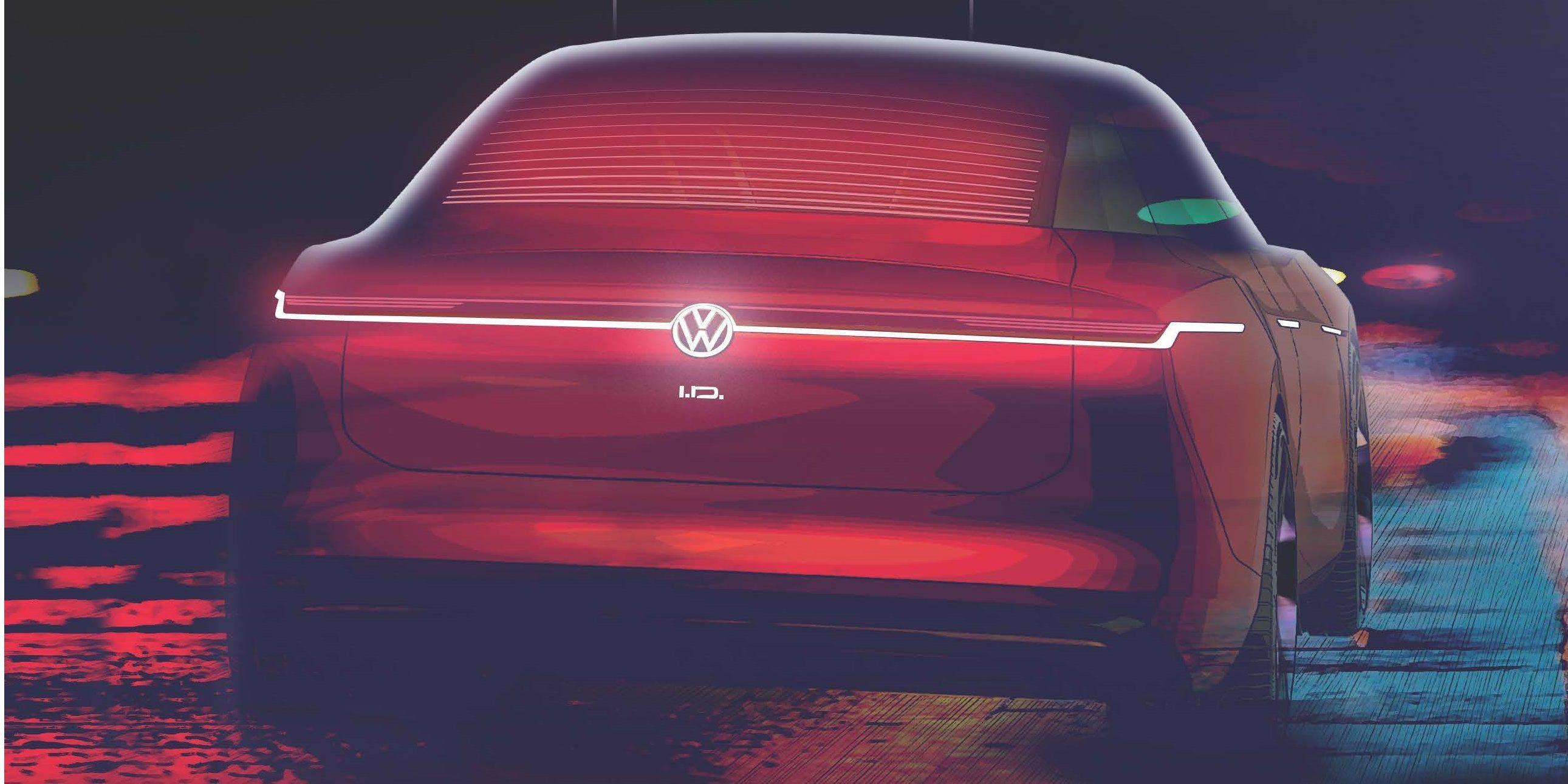 VW teases a new ID electric concept