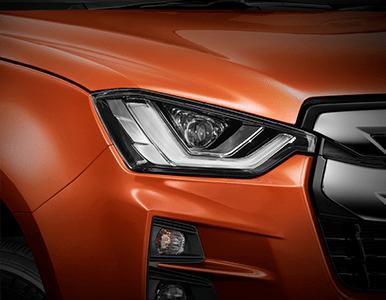 Isuzu D-Max headlights