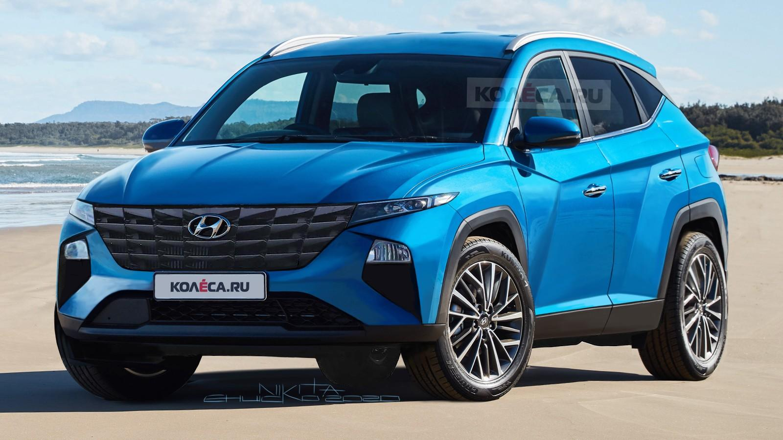 2021 hyundai tucson shows crazy styling in accurate