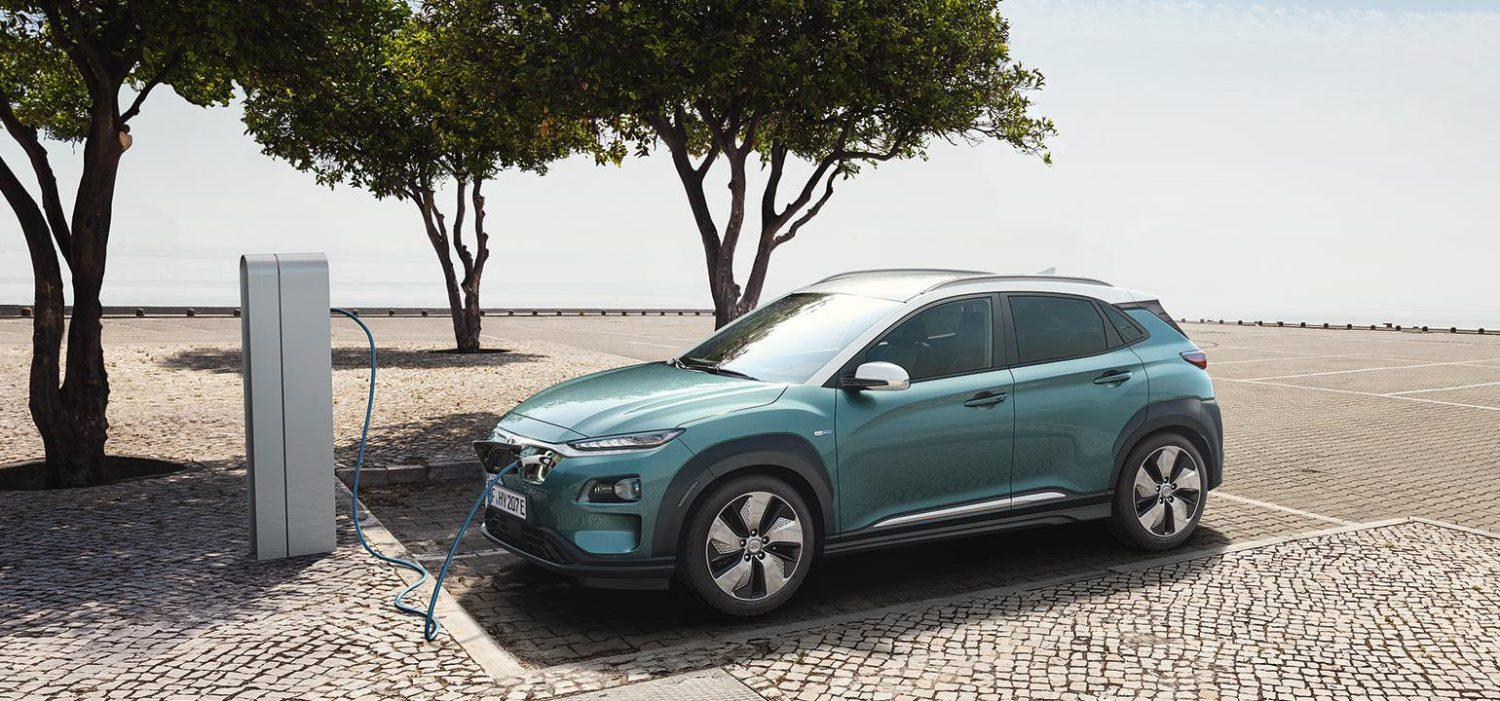 Hyundai unveils the Kona Electric compact SUV with a range of up to 292 miles